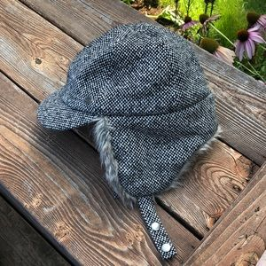REI Aviator Wool Blend Faux Fur Hat